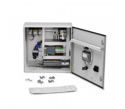 Фото Панель управления установки с высоким вакуумом