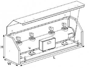 Фото Изоляционная коробка для бака давления FM
