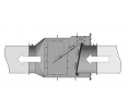 Фото Explosion Isolation Flap Valve CARZ-N Ø450-630mm
