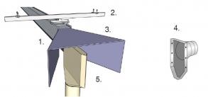 Фото Вертикальная стековая система для аварийных автомобилей